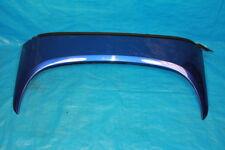 05-10 LOTUS ELISE S2 MAGNETIC BLUE UPPER REAR WINDOW HALO ROOF TRIM SPOILER OEM
