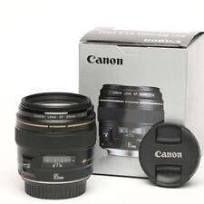 Canon EF 85 mm 1.8 USM Objektiv Neuwertig € 240,00!! Mit OVP!