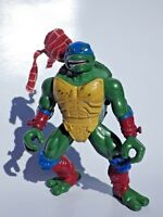 Figurine tortue ninja 1998 mirage studios playmates Léonardo 12cm animated