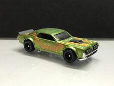 2019 Hot Wheels Super Treasure Hunt STH > '68 Mercury Cougar Green, Loose
