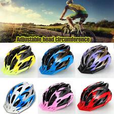 Bike Helmet Shockproof Cycling Bicycle Adult Men Womens With Visor Mountain