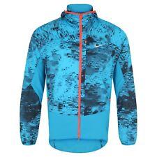 NEW NIKE RUNNING PERFORMANCE PRINTED TRAIL KIGER FULL-ZIP Hoodie Jacket Mens MeD