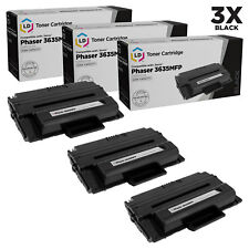 LD Compatible Xerox 108R00795/108R795 3PK HiY BLK Toners for Phaser 3635