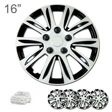 """FOR VW NEW 16"""" ABS SILVER RIM LUG STEEL WHEEL HUBCAPS COVER 547"""