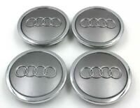AUDI Gray 4*69mm Wheel Cover Hub Center Caps Emblems Badges Logo 4B0601170A audi