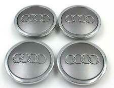 AUDI Gray 4*69mm Wheel Cover Hub Center Caps Emblems Badges Logo 4B0601170A audi