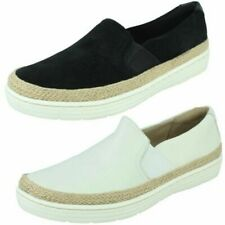 Ladies Clarks Casual Slip On Shoe 'Marie Sail'