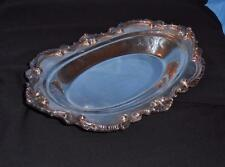 """Vintage. Wallace Silver Tray """" Chippendale"""" pattern Very Nice !.No.1"""
