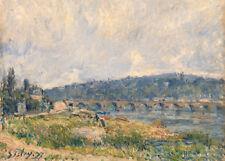 Sèvres Bridge by Alfred Sisley 60cm x 43cm Art Paper Print