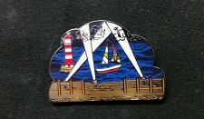 """String Cheese Incident """"Search"""" Pin SCI jamband sailboats lighthouse sea"""
