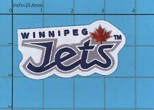 The Winnipeg Jets NEW LOGO Patch ICE HOCKEY Canada Thrashers NHL Manitoba CF18
