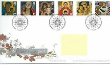 wbc. - GB - FIRST DAY COVER - FDC - COMMEMS -2005- CHRISTMAS - Pmk Bethlehem