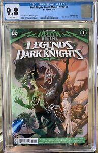 Dark Nights Death Metal Legends Dark Knights 1st Robin King CGC 9.8 White Pages