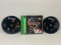 Resident Evil 2: Greatest Hits (PlayStation 1, 1998) Complete Not The Prettiest