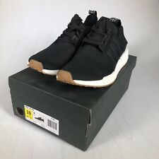 Adidas Originals NMD R1 PK PrimeKnit BOOST Black Gum Mens Sneakers BY1887 US 10