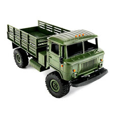 WPL B - 24 1:16 2.4G DIY Mini Off-road RC Military Truck 4WD/ 10km/h Speed New