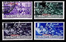 1930 ITALY-AEGEAN ISLANDS-STAMPALIA #12-15 - USED & OGH - VF - $36.75 (E#1561)