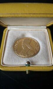 Äthiopien, Medaille, Rastafari Haile Selassie I, 1930, Gold Könung Rarität