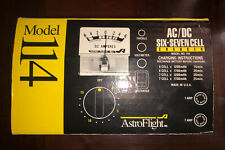 ASTROFLIGHT ASTRO FLIGHT MODEL 114 AC/DC SIX-SEVEN CELL BATTERY CHARGER IN BOX