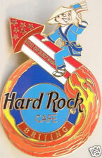Hard Rock Cafe BEIJING 2000 July 4th PIN Chinese Boy on Rocket HRC Catalog #1119
