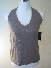 New INC Sparkly Halter Neck L Retail $69.50