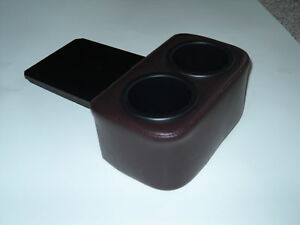 Maroon Claret Drink Holder 78-88 G-Body El Camino Monte SS Cars, Plug and Chug