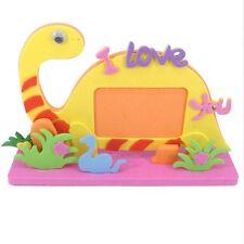 3D Dinosaur Diy Photo Frame Album Stickers Children Baby Educational Toys Gift