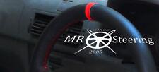 Fits mazda mx5 1990-2005 volant en cuir perforé couverture bleu ciel Stitch
