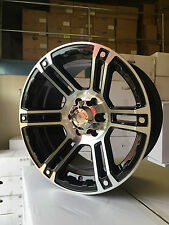 "16"" BLACK WHEELS 8x16 6/114 ET0  4X4 TRUCKS,NISSAN NIVARA,PATHFINDER MODELS"