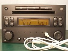 2003 NISSAN 350Z RADIO SINGLE CD PLAYER WITH AUX INPUT PP-2515L
