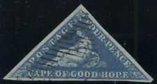 CAPE OF GOOD HOPE #2, 4p deep blue, used, VF, Scott $170.00