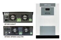 PV Solar Wechselrichter 3000W MPPT Energiespeicher Stromspeicher Ladegerät 60A