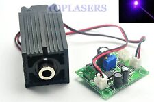 405nm 100mW Blue Purple Focusable DOT Laser Module TTL + Long-time Working 12V