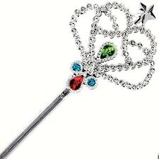 6pc Crown Wand Girl Birthday Party Favors Pretend Dress up Wedding gifts present