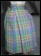 SKIRT BOTTOM BARBIE LOVES FRANK SINATRA PASTEL PLAID SKIRT CLOTHING ACCESSORY