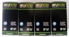 MV AGUSTA F4 1000 / R/RR (2010 to 2016) Hiflofiltro Filtre à huile (HF567) Lot