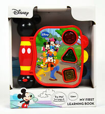 Disney Mickey Mouse My First Learning Book Lights Sounds English - Spanish