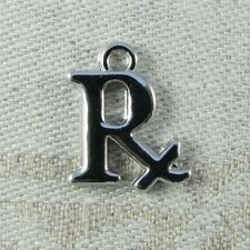 Pharmacy Pendant Charm medication Necklace Chain Fashion Medical Graduation Drug