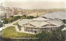 SUPERB RARE OLD POSTCARD - THE ALEXANDRA GARDENS - WEYMOUTH - DORSET C.1912