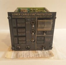 Boeing 747 Aircraft Cargo Fire Control Panel 65B46189-5