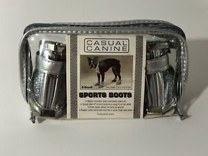Casual Canine. Polished Paw Sporty Boots. Size XS Water Resistant New