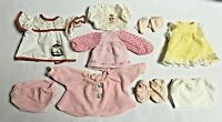 """Doll Clothes Vintage 1980's Various Clothing Not Labeled Sizing Fits 8-14"""" Dolls"""