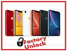 Apple iPhone XR- 64GB & 128GB -(Factory Unlocked) A1984 (CDMA+GSM) All Color