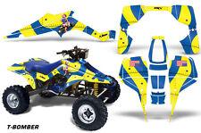 Suzuki LT 500 R AMR Racing Sticker Graphic Kit Wrap Quad Decals ATV 87-90 T-BOMB