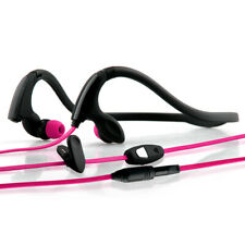 NoiseHush NS200 3.5mm Neckband Stereo Headset - Black/Pink