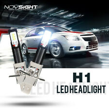 2x NIGHTEYE H1 160W 1600LM 6500K Cool White Car Driving DRL LED Fog Light Bulbs