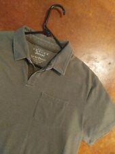 Men's Lucky Brand Vintage Burnout Slim Fit Polo Green Size L