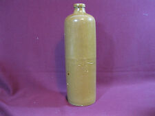 Vintage Clay Gin Bottle, Stoneware, Unmarked, Soid Condition. SP1