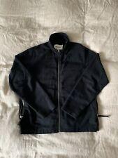 Our Legacy Funnel Blouson Peeled Flannel Black 46 Small Jacket Fleece