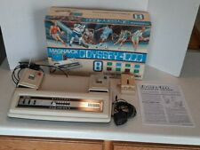Vintage 1977 Magnavox 4000 Video Game Console 6 Sport Games Boxed Works